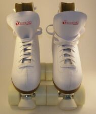 Chicago Women's Leather Lined Rink Roller Skate Size 8 White