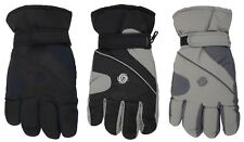 Mens Thermal Lined Padded Ski Gloves One Size
