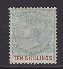 Lagos. 1887. SG 41, 10/- green & brown. Mounted mint.