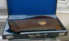 alte Zither in original Koffer