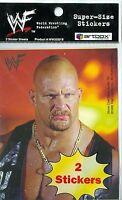 1999 World Wrestling Federation 99 WWF SuperSize 2 Sticker Stone Cold Undertaker