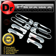 05-10 Dodge Dakota Chrome Triple Plated 4 Door Handle No Passenger Keyhole Cover