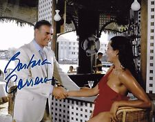 Barbara Carrera Signed 8x10 Photo - James Bond Babe - NEVER SAY NEVER AGAIN H119