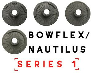 NEW Nautilus Bowflex Selecttech 552 Series 1 Disc 2 3 4 5 Replacement Dumbbells