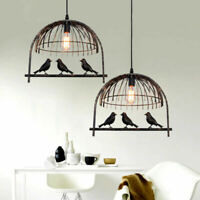 Bird Cage Art Decor Lampshade Chandelier Light Rustic Ceiling Pendent Lightshade