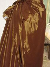 tissu taffetas doré reflets  or  en 150 cm de large au mètre