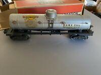 Lionel O Gauge Tank Car Sunoco 2555
