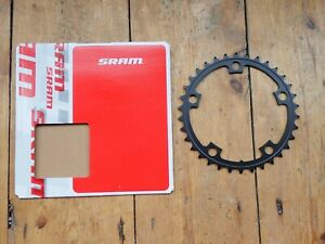 New SRAM 34T compact road chainring - 110mm BCD - 5-arm - 10 speed - black