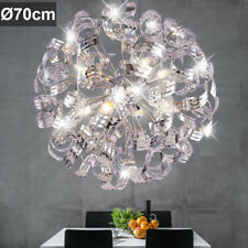 Hängelampen mit 7 12 Lichtern aus Chrom | eBay