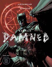 Batman Damned #1 Jim Lee Unread Near Mint Uncensored