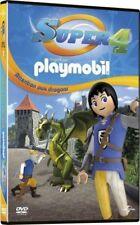 Super 4 inspiré par playmobil attention aux dragons DVD NEUF SOUS BLISTER