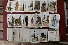 524 315 Zigaretten Bilder Monopol Wohlauf Kameraden Uniformen 1913-1932 D+Europa