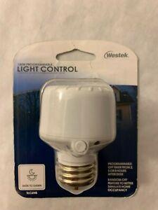 Westek SLC6NB 100W Programmable Screw-In Light Control, White New Sealed