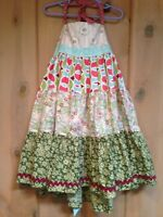 Matilda Jane PLATINUM SUMMER STORY Ellie Dress 8 Girls NWOT Art Fair LE 38/48