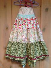 Matilda Jane PLATINUM SUMMER STORY Ellie Dress 8 Girls NWOT Art Fair LE 38/48