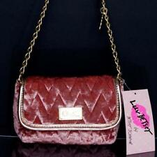 "Betsey Johnson Cute Velvet Cross body Mini Bag Brand New W/ Tag ""Free Shipping"""