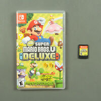 New Super Mario Bros. U Deluxe Nintendo Switch Preowned Mint Condition