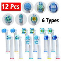 12 PCS Toothbrush Heads Replacement for Oral-B Electric Toothbrush Pro Vitality