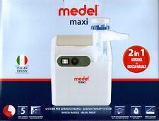 Medel maxi aerosol terapia a pistone silenzioso con doccia nasale