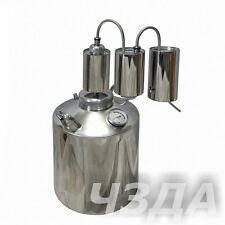 16L Alcohol Stainless Distiller Home Brew Kit Moonshine Wine Making Boiler
