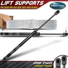 Qty(2) Hood Lift Supports Shocks Struts for Dodge Ram 1500 2500 3500 4500 5500