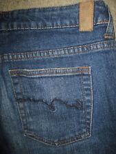 AMERICAN RAG Boot Stretch Dark Blue Denim Jeans Womens Size 7 R x 31