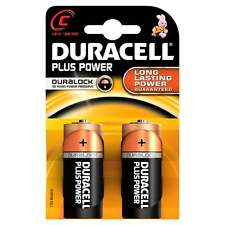 Duracell Batteries 2 x C Plus Power Battery Alkaline LR14 1.5V MN1400