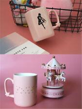Anime Sailor Moon Cartoon Water Mug Tea Coffee Cup Girl  gift Pink Mugs