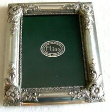 """Elias Extra Fine Pewter And Sterling Silver 5.25"""" X 4 """" Photo Frame ,Beautiful"""