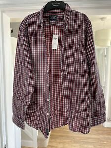 Abercrobie and Fitch Checked Shirt