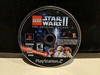 LEGO Star Wars II Original Trilogy Playstation PS2 Black Label DISC ONLY