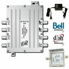 Dish Network SW44 Switch Bell ExpressVU Legacy Videopath SW-44 4X4 Multi-Dish