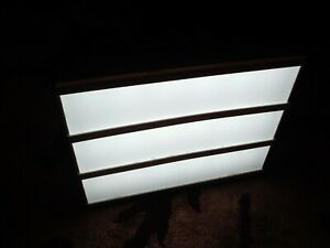 Light box with letters. From Next