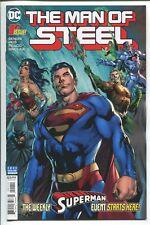 THE MAN OF STEEL #1 - BRIAN MICHAEL BENDIS STORY - REIS ART - DC COMICS/2018