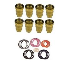 FORD POWERSTROKE 7.3L FUEL INJECTOR CUP / SLEEVE WITH INJECTOR ORINGS