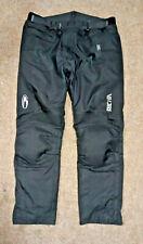 Richa Impact Protection Motorcycle Trousers Black XXXL Free P&P