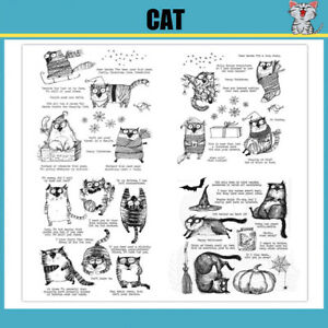 CAT Metal Cutting Dies and Stamps Stencils For Scrapbooking- SUPER DISCOUNT