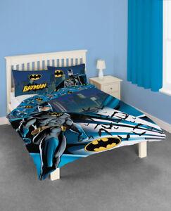 Official DC Comics Batman Dark Knight Double Duvet Cover & Pillow Cases Set