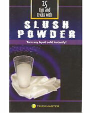 Brand New Book - 25 Tips and Tricks With Slush Powder (Booklet)