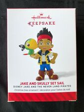 "2014 Hallmark ""JAKE AND SKULLY SET SAIL"" Disney's Jake and the Neverland Pirates"