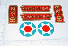 Keystone AirMil Tri-Motor Airplane Sticker Set             KY-022
