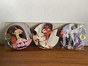 6 x 1950's Retro Posavasos Fantasia Spanish Dancers Coasters - Unopened  (B4)