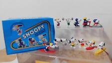 Snoopy Peanuts Sport Figuren Schleich Hong Kong 1984 Auswahl Eishockey Tennis