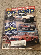 OFF-ROAD MAGAZINE October 1985 - Pulling & Monster Trucks - RARE