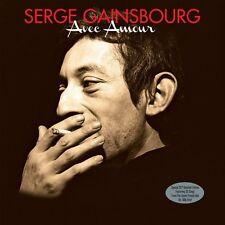 Serge Gainsbourg-Avec Amour (2LP Gatefold Edition sur 180 g Vinyl) Neuf/Scellé
