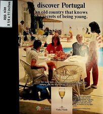 1985 Discover Portugal Vinho Verde Wines of Portugal Vintage Print ad 7346