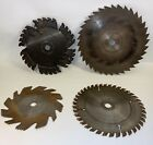 Lot of 4 Vintage Radial Saw Blades - Simone - Estate Find - Used