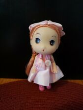 5 Inch Plastic Doll. Adorable! Use on Backpack,purse, keys and jeans!Bendable!