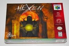 HEXEN 💀 (Nintendo 64 N64) BRAND NEW SEALED 🗡️ MINT CASE FRESH - RARE 1st PRINT