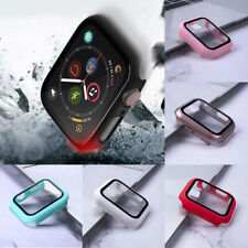 For iPhone 4 5 Fashion Slim Tempered Glass Case Protection Watch Skin Cover Case